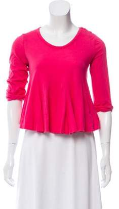 3.1 Phillip Lim Fluted Knit Top