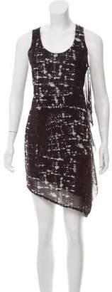 Acne Studios Printed Sleeveless Dress