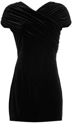 Christopher Kane Stretch Velvet Mini Dress