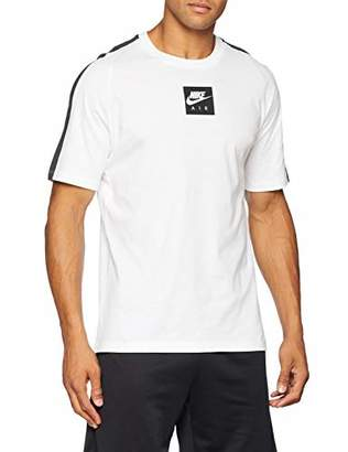 Nike Men's M NSW Tee Cltr Air 3 Kniited Tank Top Anthracite/White 100