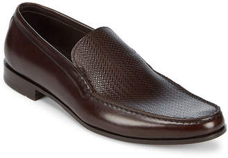 Canali Slip-On Leather Loafers