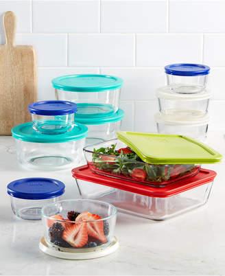 Pyrex 22 Piece Food Storage Container Set