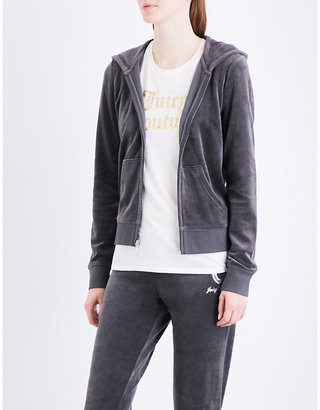 Juicy Couture Crystal Dreams velour hoody $235 thestylecure.com