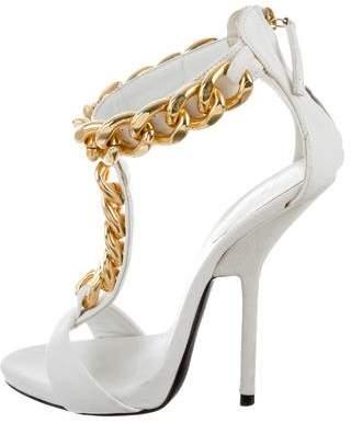 Giuseppe Zanotti Leather Chain Sandals