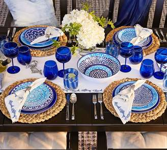 Pottery Barn Hampton Melamine Dinner Plate