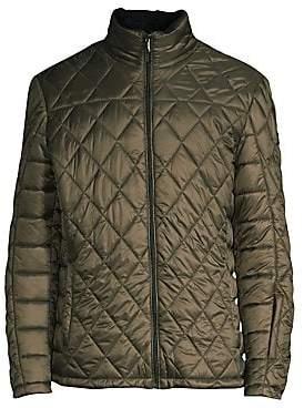 Tumi Men's Outerwear Transit Faux Shearling Quilt Jacket