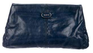 Tod's Leather Frame Clutch