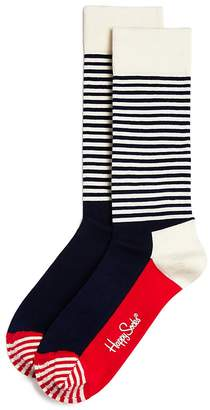 Happy Socks Half Stripe Socks