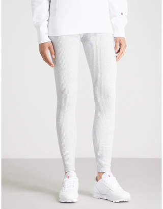 Champion High-rise knitted leggings