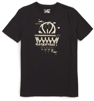 Boy's Under Armour Basketball Badge Heatgear T-Shirt