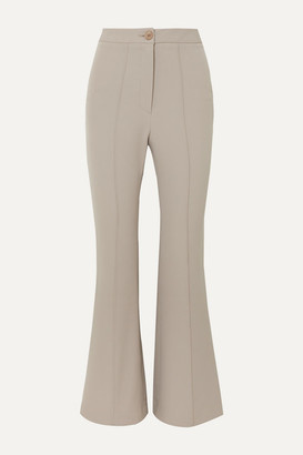 Low Classic Stretch-cady Flared Pants