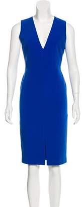 Alice + Olivia Casual Knee-Length Dress Blue Casual Knee-Length Dress
