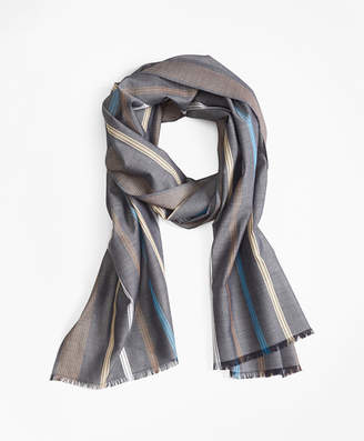 Brooks Brothers Stripe Scarf