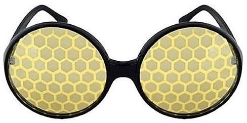 Black & Yellow Bug Eye Dress-Up Glasses