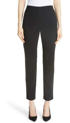 Emporio Armani Magic Stretch Wool Crepe Pants