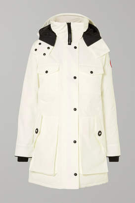 Canada Goose Gabriola Hooded Quilted Shell Down Parka - White
