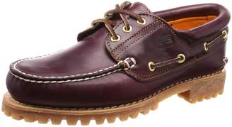 Timberland Men's Classic 3 Eye Lug Boat Shoe