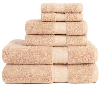 ADI Organic 6 Piece Towel Set in Linen