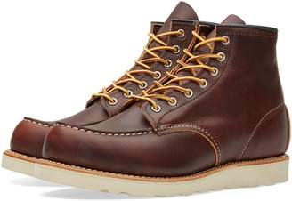 "Red Wing Shoes 8138 Heritage Work 6"" Moc Toe Boot"