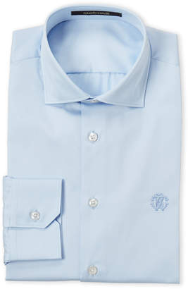 Roberto Cavalli Light Blue Comfort Fit Dress Shirt