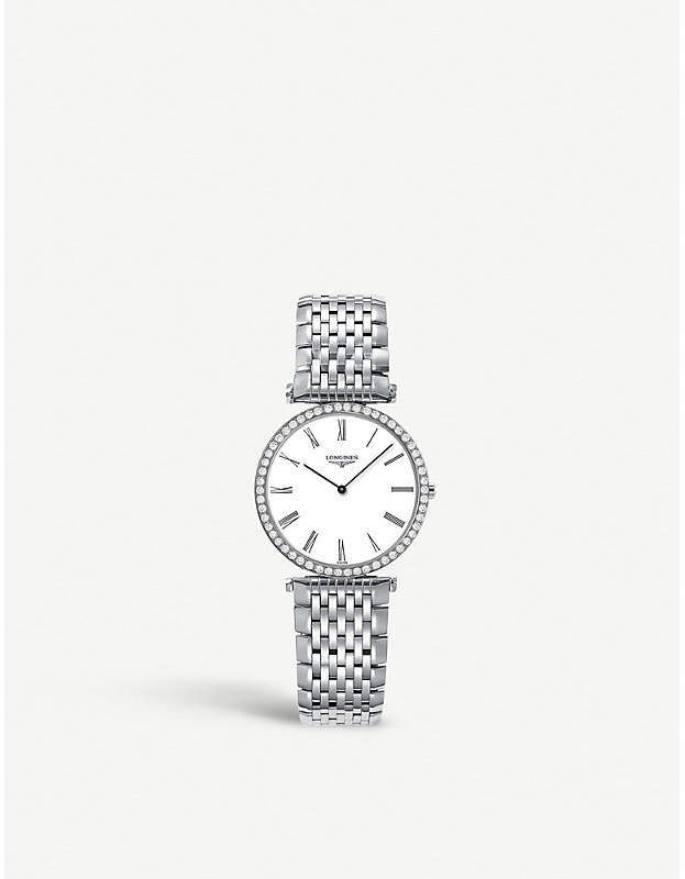 L4.513.0.11.6 La Grande Classique black diamond watch