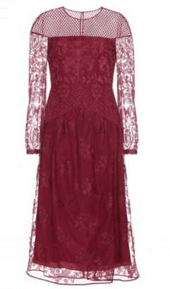 Burberry Red Lacework Dress