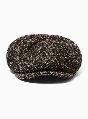 99dac835c72 Topman Mens Brown Baker Boy Hat