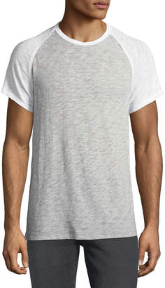 ATM Anthony Thomas Melillo Men's Raglan-Sleeve Baseball T-Shirt