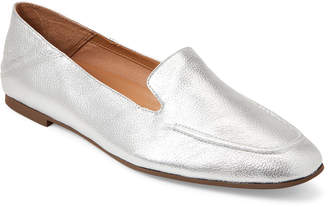 Franco Sarto Silver Gracie Metallic Loafers