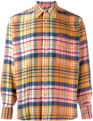 Ungaro Pre-Owned 1990's flannel plaid shirt