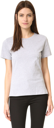 Mugler T-Shirt with Hardware $175 thestylecure.com