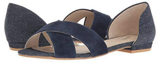 Seychelles Shoes Slow Down Navy Suede Sandal