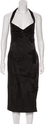 Christian Dior Silk Halter Dress