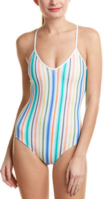 Shoshanna Halter One-Piece