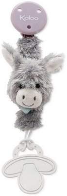 Kaloo Les Amis Donkey Pacifier Holder Soft Toy