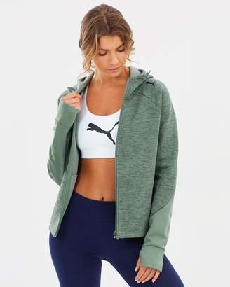 Puma Evo Stripe Full-Zip Hoodie