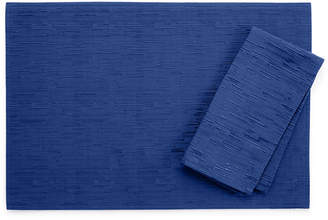"""Bardwil Continental Collection 19"""" X 19"""" Navy Napkin"""