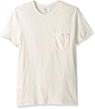 Hudson Jeans Men's Crewneck Pocket Tee Shirt