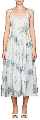 Brock Collection Women's Daphne Floral Cotton Midi-Dress