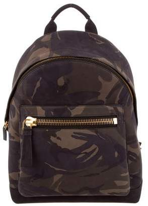 Tom Ford Buckley Leather Backpack w/ Tags