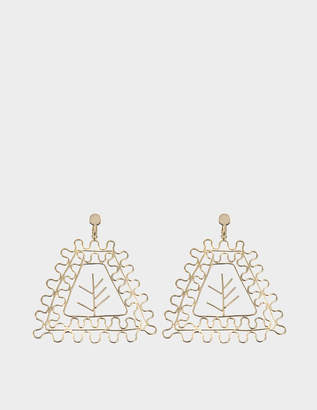 Maison Margiela Triangle earrings