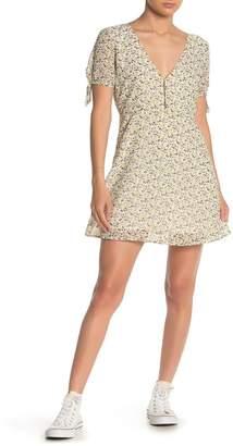 Emory Park Deep V Floral Dress