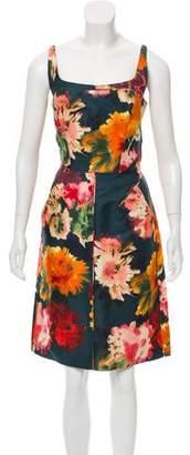 J. Mendel Knee-Length Silk Dress