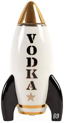 Jonathan Adler 24K Gold Detailed Vodka Rocket Decanter