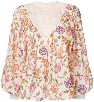 Antik Batik Alina floral print blouse