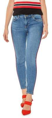Dorothy Perkins Side Striped Stretch Jeans