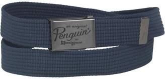 Original Penguin Mens Webbing Belt Navy