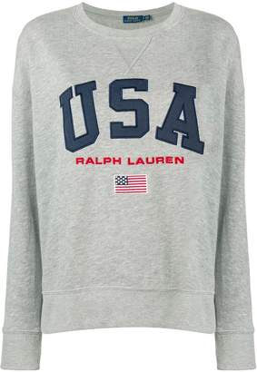 Polo Ralph Lauren USA logo jumper