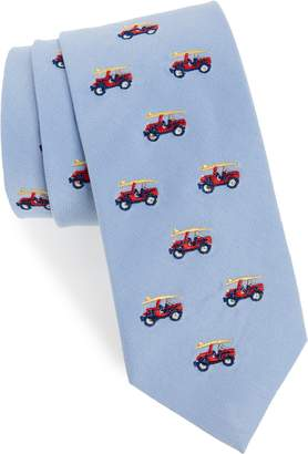 Southern Tide Old School Jeep Cotton & Silk Tie