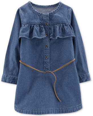 Carter's Toddler Girls Cotton Denim Dress